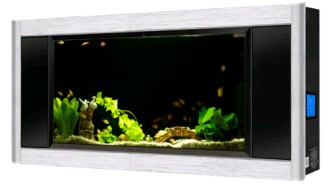Aquavista, panoramic, aquarium, fish, tank, tanks, aquariums, wall, mount, mounted