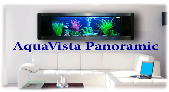 Aquavista Panoramic Aquarium Fish Tank Tanks Aquariums Wall