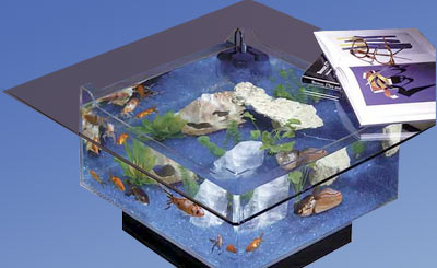 675, aquatable, aquatables, aquarium, aquariums, table, tables, Midwest tropical, fish, tank, tanks