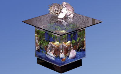670, aquatable, aquatables, aquarium, aquariums, table, tables, Midwest tropical, fish, tank, tanks